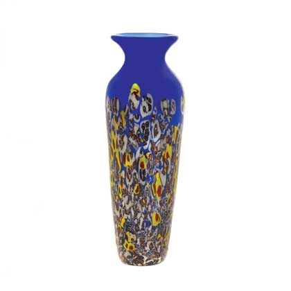 Blue Art glass Vase for excellent home decor