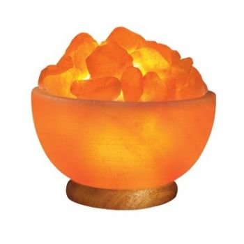 Himalyan Salt Bowl lamp