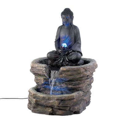 Beautiful sculped water fountains of all styles some solar powered